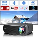 WiFi Home Theater Projector Full HD Native 1080P Bluetooth Support 4K Wireless Airplay 7200 Lumen LED 1920 1080 HDMI USB Zoom