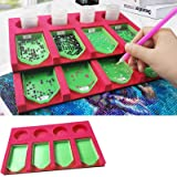 Diamond Painting Accessories Tray Organizer for Adults, Multi-Boat Holder for Tray Jar Containers, Diamond Painting Tools Kit