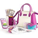 Litti Pritti Princess Toys Little Girls Purses - Pretend Play My First Purse Set - Fashionably Stylish Handbag with Makeup Sm