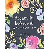 2020-2024 Monthly Planner 5 Years-Dream It, Believe It, Achieve It: 60 Months Yearly Planner Monthly Calendar, Agenda Schedul