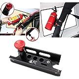 (1-Year Warranty) Universal Aluminum Adjustable Roll Bar Fire Extinguisher Mount Bottle Holder For Jeep Wrangler TJ JK JKU JL