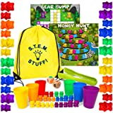 Counting Bears for Toddlers - Preschool Activities for Counting, Sorting, and Stacking - Stem Educational Toys – Learn to Add