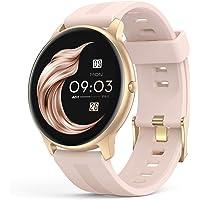 AGPTEK スマートウォッチ [ 2021最新版] 活動量計 smart watchメンズ 1.3インチ大画面 33m…