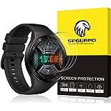 【改善版 3枚入り】VICARA for Huawai Watch GT2e 46mm/TicWatch Pro 3 GPS/POLAR IGNITE ガラスフィルム 液晶保護フィルム 貼り直し可 硬度9H 気泡ゼロ 飛散防止 耐指紋 for Hua