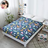 Comfort Bedding Fitted Sheet, Morbuy Elasticity Easy Care Microfiber Soft Polyester Wrinkle and Fade Resistant Bed Sheet Sing
