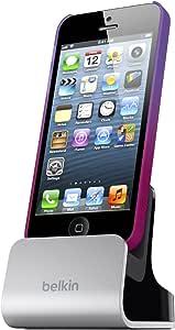 【保証なし】belkin ベルキン iPhone5対応 ドックスタンド F8J057qe