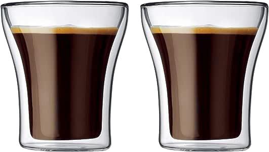 【正規品】 BODUM ボダム ASSAM アッサム ダブルウォールグラス 200ml 2個セット 4555-10