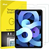 JETech 2-Pack Screen Protector for iPad Air 4 10.9-Inch, iPad Pro 11-Inch, Face ID Compatible, Tempered Glass Film