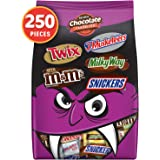 Mars Snickers, Twix, Milky Way, 3 Musketeers & Milk Chocolate M&M'S Halloween Candy Bars Variety Mix 96.2-Ounce 250 Count (Pa