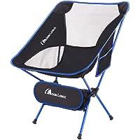 Moon Lence アウトドアチェア キャンプ椅子 折りたたみ コンパクト 超軽量 イス 収納バッグ付き ハイキング…