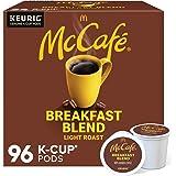 McCafé Breakfast Blend, Keurig Single Serve K-Cup Pods, Light Roast Coffee Pods, 96 Count