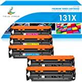 True Image Compatible Toner Cartridge Replacement for HP 131X 131A CF210X CF211A CF212A CF213A Laserjet Pro 200 Color M251nw