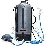 MOMOHOO Camping Shower Bag, Portable Shower for Camping, Portable Camping Shower Pump for Outdoor Camping, Shower Bag with Pr