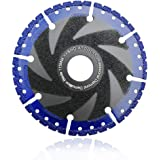 SHDIATOOL Rescue Demolition Diamond Blades for ALL-CUT 4.5 Inch/115mm Metal Marble Aluminum Pipe Iron Hard Plastic PVC Cut-of