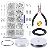 PP OPOUNT OP-0068 OPount Jewelry Findings Set Jewelry Making Kit Jewelry Findings Starter Kit Jewelry Beading Making and Repa