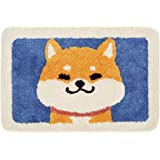 Ankah Shaggy Bath Mat Shower Rug, Soft and Comfortable, High Absorbent and Anti Slip, Machine Washable Fit for Bathtub, Showe
