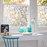 3D No Glue Window Privacy Film Static Window Clings Decorative Film Rainbow Light Effect Prism Window Stickers for Home Glass