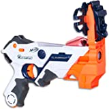 NERF - Laser Ops - Electronic AlphaPoint Blaster - The Ultimate Laser Game - Blaster, Armband, Solo Attachment - Kids Toys &