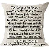 "Always kiss me Good Night red Heart Cotton Linen Square Throw Waist Pillow Case Decorative Cushion Cover Pillowcase Sofa 12""x"