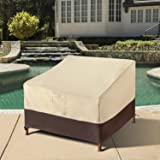 Arcedo Patio Chair Cover, Heavy Duty Waterproof Deep Seat Lounge Chair Cover, All Weather Resistant Outdoor Furniture Covers,