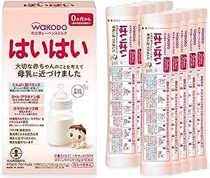 和光堂 レーベンスミルク はいはいスティックパック 13g×10本 粉ミルク [0ヶ月から1歳頃] ベビーミルク  個包装  DHA・アラキドン酸配合