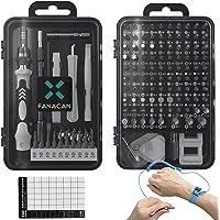 FANACAN S2素材 140in1精密ドライバーセット 潰れたネジ対応 電動ドライバーでも使える 多機能修理工具キッ…