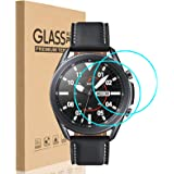 HEYUS [2 Pack] for Samsung Galaxy Watch 3 45mm/Watch 4 46mm Screen Protector, HD Clear Bubble Free Anti-scratch 9H Hardness T