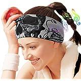 Sleep Headphones Bluetooth Headband,Wireless Sleeping Headphones Music Sport Headbands, Long Time Play Sleeping Headsets Buil