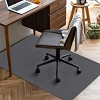チェアマット 90×120cm 厚み4mm デスク 椅子 マット 床保護マット ズレない 吸音 床傷防止 滑り止 丸洗い…