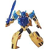 "TRANSFORMERS - Bumblebee Cyberverse Adventures - 5.5"" Battle Call Trooper Class Bumblebee Action Figure - Voice Activated Ene"