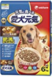 愛犬元気 肥満が気になる愛犬用 ビーフ・ささみ・緑黄色野菜・小魚入り 6kg