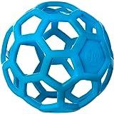 JW Pet Company 犬用おもちゃ ホーリーローラーボール ブルー M サイズ