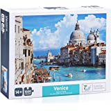 The Jigsaw Puzzlery Venice Italy Jigsaw Puzzle - 1000 Piece Jigsaw Puzzles for Adults