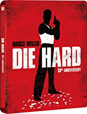 【Amazon.co.jp限定】ダイ・ハード 製作30周年記念版 スチールブック仕様 (4K ULTRA HD+2Dブルーレイ/2枚組) [Blu-ray]
