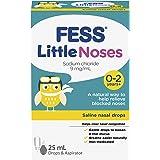 Fess Little Noses Saline Nasal Drops 25 ml + Aspirator