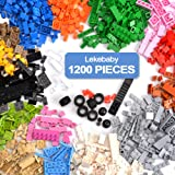 Lekebaby Classic Building Bricks Sets for Kids Creative Play, Toy Building Kits for Boys and Girls, 1200 Pieces