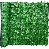 グリーンフェンス 目隠し 緑のカーテン 日よけ UVカット リーフフェンス フェイクグリーン リーフラティス ガーデンフェンス ハードネットタイプ 造花 枯れない フェイクグリーン サンシェード 窓 庭 壁掛け 日よけ サンシェード 目隠しフェンス