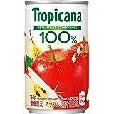 トロピカーナ 100% アップル 160g缶 ×30本