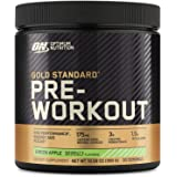OPTIMUM NUTRITION GOLD STANDARD Pre Workout with Creatine, Beta-Alanine, and Caffeine for Energy, Keto Friendly, Green Apple,