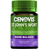 Cenovis St John's Wort, Supports Healthy Mood Balance, Mostly Green, 60 Count (Pack of 1)