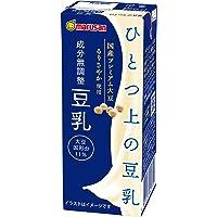 マルサン ひとつ上の豆乳 成分無調整 200ml×24本