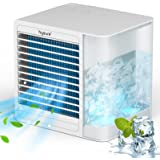 Hysure Portable Mini Air Cooler - Personal Cooler Fan for Indoor or Outdoor Use - USB Charging Small Air-Conditioned with 2 i