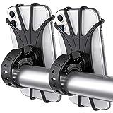 Tropiz Bike Phone Mount, 360° Rotation Bike Phone Holder, Adjustable Handlebar Cradle for iPhone 11/XR/XS Max/X, 6/6S/7/8 Plu
