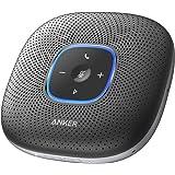 Anker PowerConf スピーカーフォン 会議用 マイク Bluetooth 対応 Skype Zoom など対応 24時間連続使用 USB-C接続 オンライン会議 テレワーク 在宅 会議用システム ウェブ会議 テレビ会議 ビデオ会議(グレー