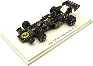 【PLANEX COLLECTION/Spark】1/43 LOTUS 72E オーストリアGP 1973 R.ピーターソン