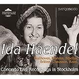 SSS0220/22「イダ・ヘンデル(ヴァイオリン)ストックホルム協奏曲ライヴ録音集」