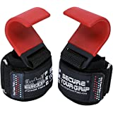 Weight Lifting Hooks Heavy Duty PRO Lifting Wrist Straps Deadlift Straps Power Lifting Grips Weightlifting Gym Gloves Men & W