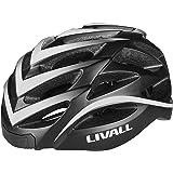 LIVALL BH62 白(WHITE) 自転車 ヘルメット LEDライト 方向指示器 3軸センサー 安全アラート ブル…