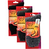 3 Pack Womens Heated Thermal Socks Insulated Fur Lined Mega Thermo Winter Socks