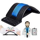 Back Stretcher, Lumbar Back Pain Relief Device, Multi-Level Back Massager Lumbar, Pain Relief for Herniated Disc, Sciatica, S